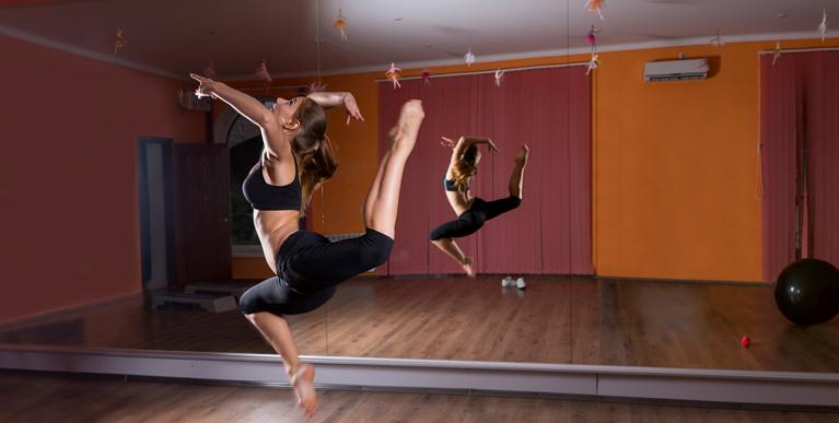 Yoga Dance Studio Mirror Walls Mirrored Walls