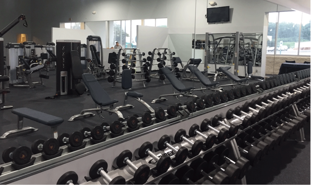Commercial Gym Mirrored Wall | Montgomeryville, PA