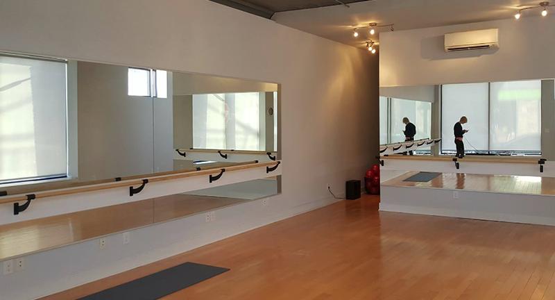 Dance studio wall mirrors