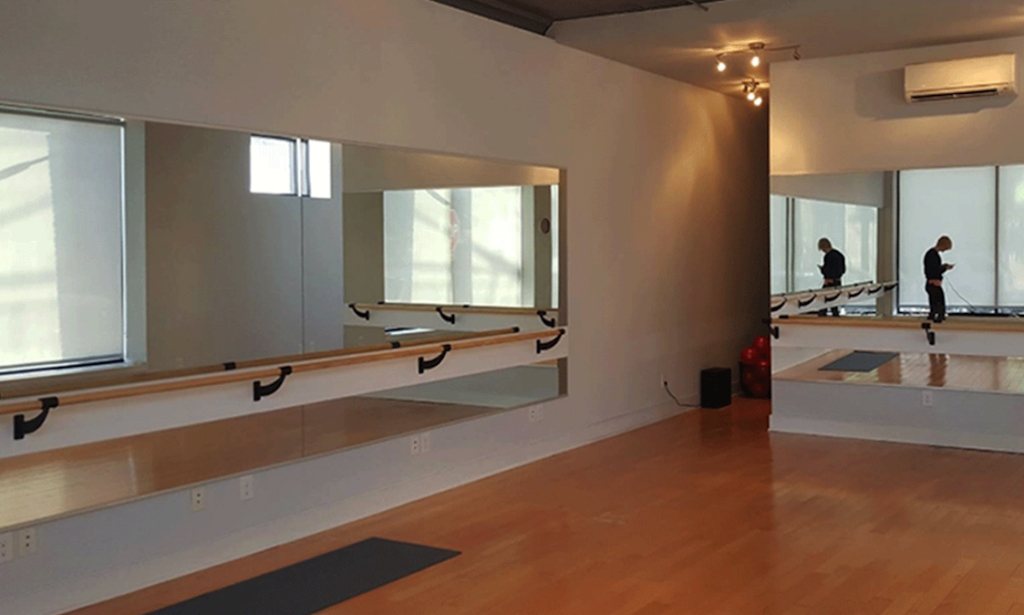 Yoga Studio Mirror Wall | Tuck Barre & Yoga | Point Breeze, Philadelphia, PA