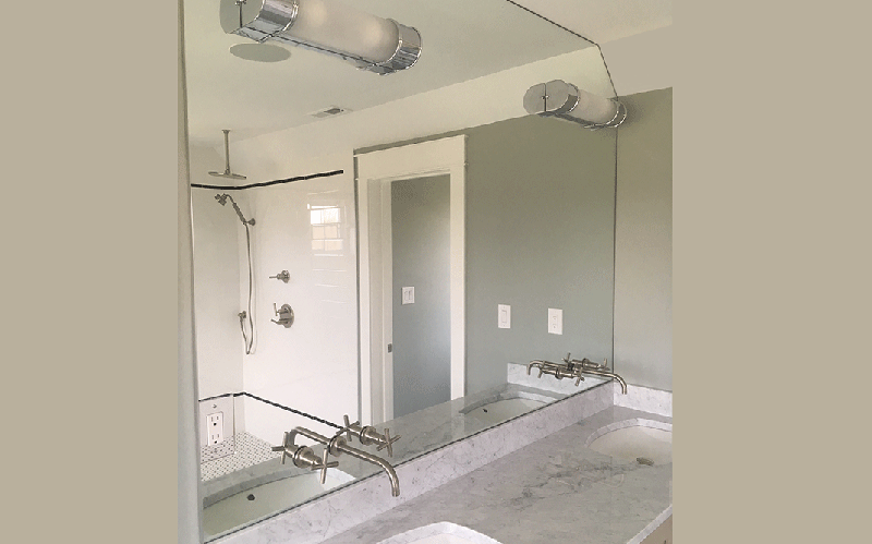 Custom Vanity Mirror | New Construction | Chalfont