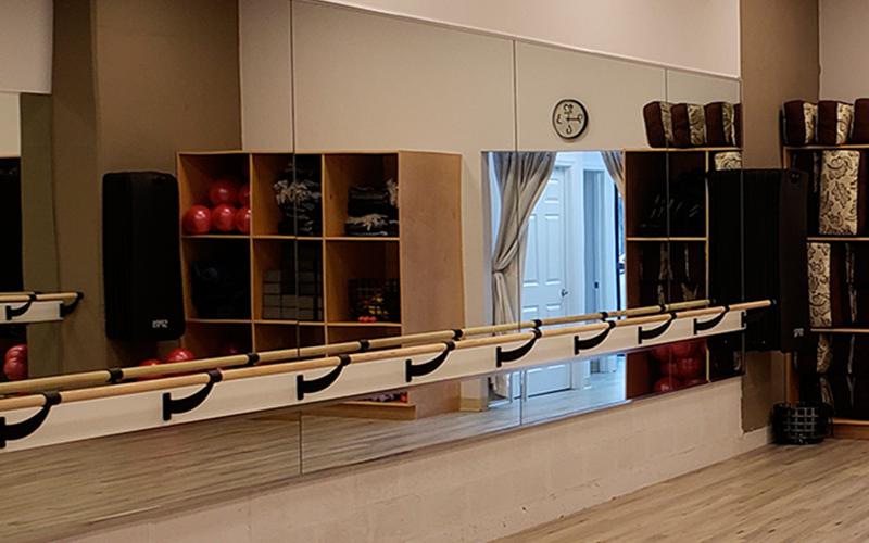 Yoga Studio Custom Wall Mirrors | West Philadelphia, PA