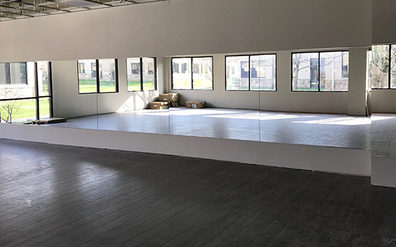 Yoga Mirror Wall | Bria Method | Warminster, PA
